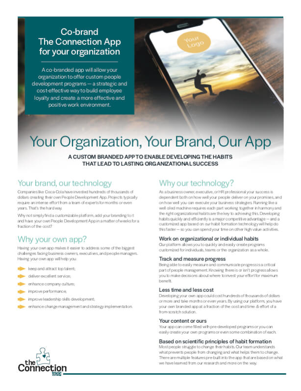 Co-Brand Our App for Your Organization